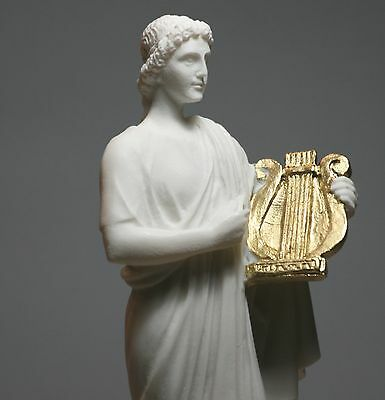 Greek Roman God of Sun & Music APOLLO Handmade Statue Sculpture Figure 10΄΄