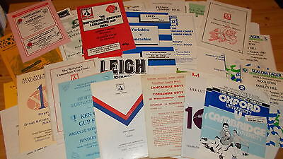 Various amateur, academy, colts rugby league programmes