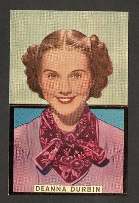 Deanna Durbin Boys' Cinema Series Cinema Film Star Actress Postcard