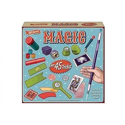 Deluxe Magicians Hat Magic Set Tricks Kids Children Play Toys Game Illusions