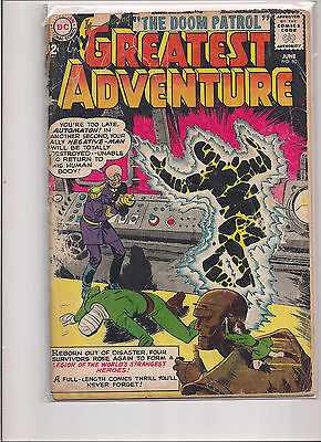 My Greatest Adventure #80 First Printing DC Comic. First Appearance Doom Patrol