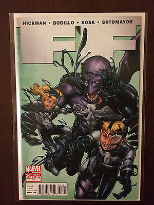FF #14 2012 1:50 Venom Variant Marvel Comic Book. Fantastic Four