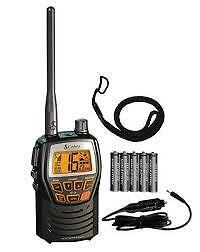 Cobra Hand Held Waterproof  VHF Radio Boat Marine RV  MRHH125