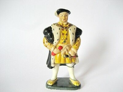 Wade Very Very Rare Pageant Figure King Henry Vlll Cellulose 1930's
