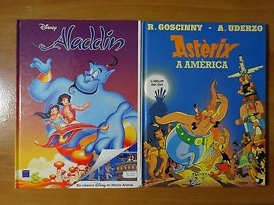 Pack comics Asterix y Aladdin