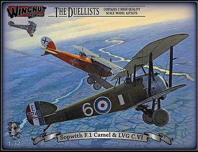Wingnut Wings Limitiert Sopwith F.1 Camel & Lvg C.vi Top Modelle In 1/32