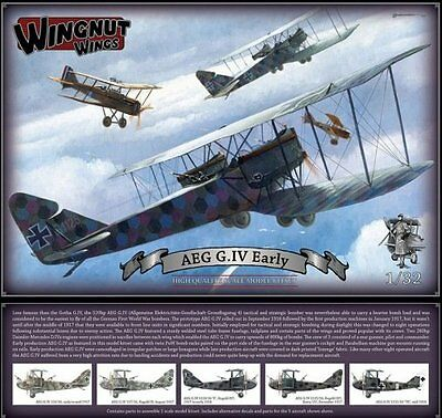 Wingnut Wings Limitiert Aeg G.iv Frühe Version Top Modell In 1/32 Noch Zwei !