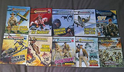 Commando comics job lot x10