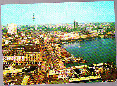 Vintage Unused Postcard, Germany, Hamburg