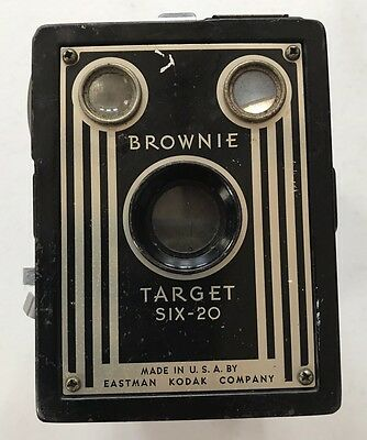 Brownie Target Six-20 Eastman Kodak Company Camera U.S.A.