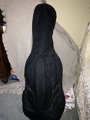 Half Size Cello with Bow and Soft Case, Rossetti