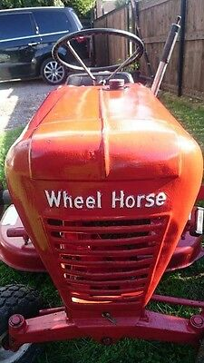 Wheel Horse tractor ride on mower 1960s