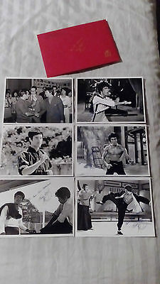Bruce Lee  Limited Edition Set Of Rare Photographs With Collectors Envelope.