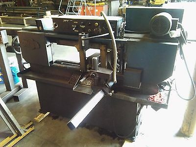 """Metal Cutting Band Saw: 9""""H x 16""""W & 10 3/4"""" round DoALL model C-916A *complete*"""