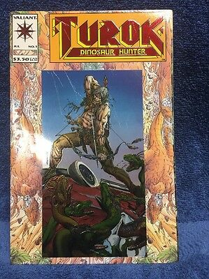 Comic Turok Dinosaur Hunter  #1 issue Valiant Comics published in 1993 unopened