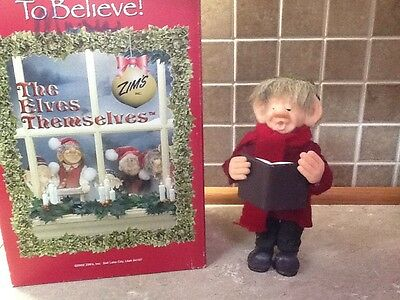 """The Elves Themselves by Zims """"theobold"""" Elf Figurine,"""
