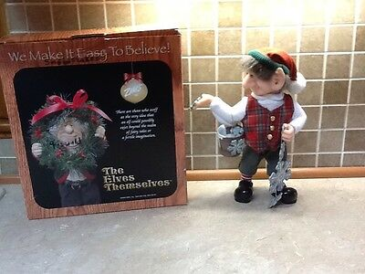 """The Elves Themselves by Zims """"Griswald"""" Elf Figurine,"""