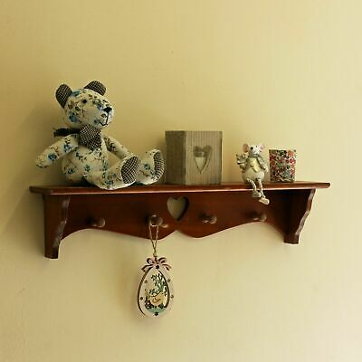 1or 2 BEECH Floating Wall mount Display Shelving Shelf Storage Children Bookcase