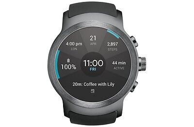 LG Watch Sport AT&T Stainless Steel W280A Unlocked/GSM ONLY New Other