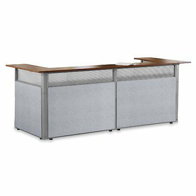 "OFMV-PG297GFGVC-OFM PG297-GF-GVC L-Shaped Reception Station, 60"" x 48"""