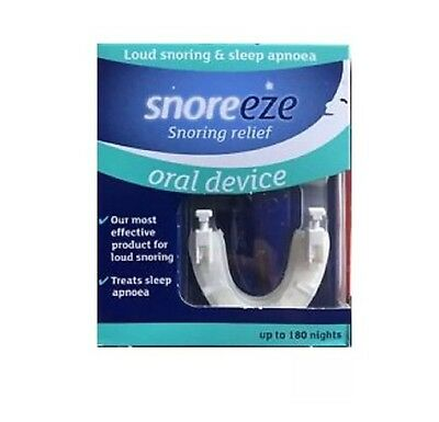 Snoreeze Snoring Relief Oral Device - Up to 180 Nights of Snoring Relief