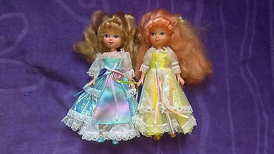 1986-1987 Lady Lovelylocks Doll Lot with Maiden Fairhair & Curlycrown