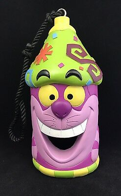 Disney Parks Alice in Wonderland Cheshire Cat Art Bird House - NEW