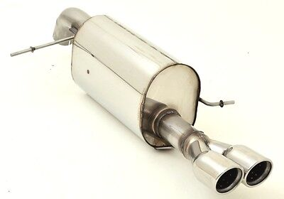 NIL 2 13/16in Sport exhaust Ford Fiesta ST JA8 Facelift from Yr. 01/2013 1.6l