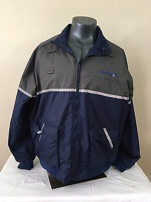 Cintas United Airlines Employee Reflective Hooded Ramp Jacket Extra Large XXL