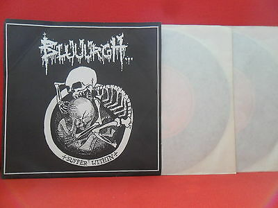 BLUUURGH... Suffer Within 2 X 7/45 NMINT HOLLAND 91' DEATH METAL Mayhem