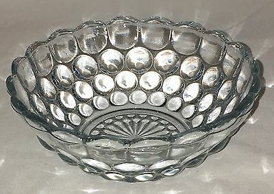 "Anchor Hocking BUBBLE BLUE *4"" BABY BERRY BOWL* HARD TO FIND*"