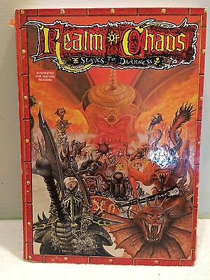 Games Workshop Warhammer 1988 Realm Of Chaos Slaves To Darkness Book