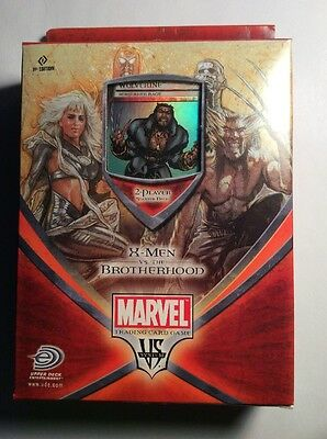 MARVEL,WOLVERINE,X-MEN VS THE BROTHERHOOD, TRADING CARD GAME, 1st Edition