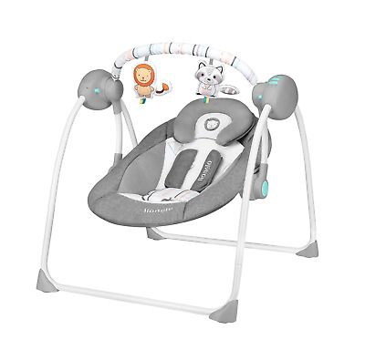 Lionelo Ruben turquoise Baby bouncer Rocking Toy Baby bouncing chair
