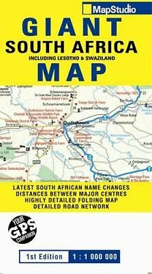 Road Map Giant South Africa by Map Studio 9781770263284