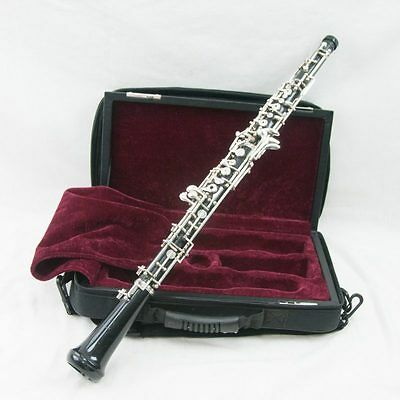 Fox 330 Full Conservatory Semi-Pro Oboe, Adjusted with New Case + Left F!