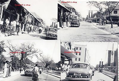 VIP visit in (Jesselton)K.K.(approx.1950-70s)group  of 4