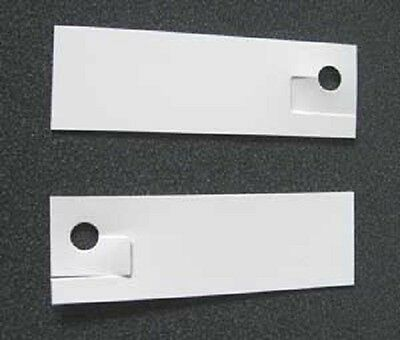 PLANT LABELS  -  250 HIGH QUALITY PLASTIC LABELS (90mm X 29mm) MADE IN AUSTRALIA