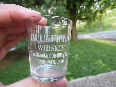 Bluefield Whiskey Standard Distilling Co. Cincinnati Ohio Pre Pro Shot Glass