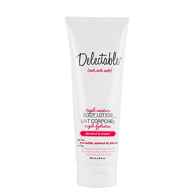 Delectable by Cake Beauty Coconut and Cream Triple Moisture Body Lotion 8 Fluid
