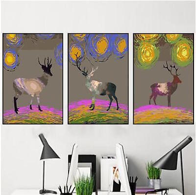 Large Painting By Number Kit Canvas 40*50cm AU STOCK S2 DIY F3P019 FUN