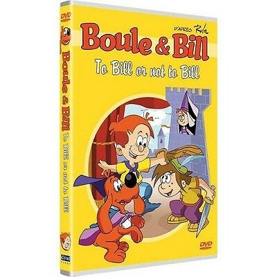 Boule & Bill To Bill or not to Bill DVD NEUF SOUS BLISTER