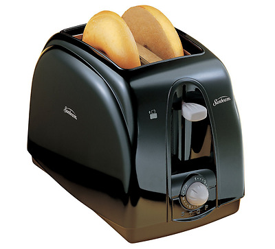 Sunbeam 2 Slice Toaster, Black
