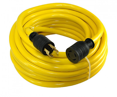 Conntek 20601, 25-Feet 30-Amp Generator Extension Cord/Transfer Switch Cord with