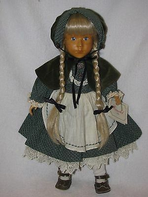 "Beautiful 18"" Wooden Doll Annie By Camelot"