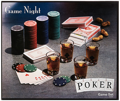 Game Night 120-Piece Poker Shot Glass Set