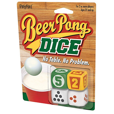 ICUP Beer Pong Dice Drinking Game