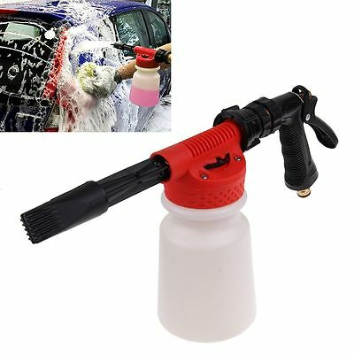 900ML Adjustable Snow Foam Lance Washer Soap Bottle Car Wash Foam Gun Foam Spray