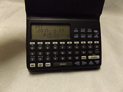 Pocekt Sized Data bank Personal Electronic Organizer Early PDA NIB