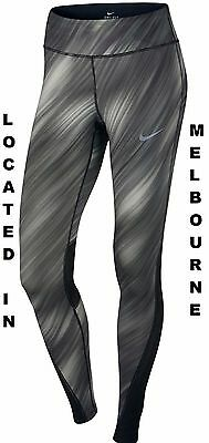 New Womens Nike Running Training Tights Power Workout Gym Yoga Pant 863732 010